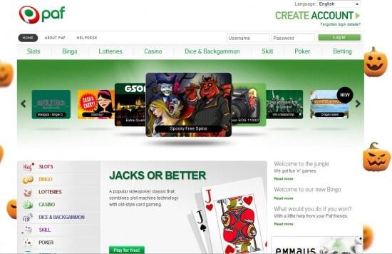 Paf Online Sportsbook Review